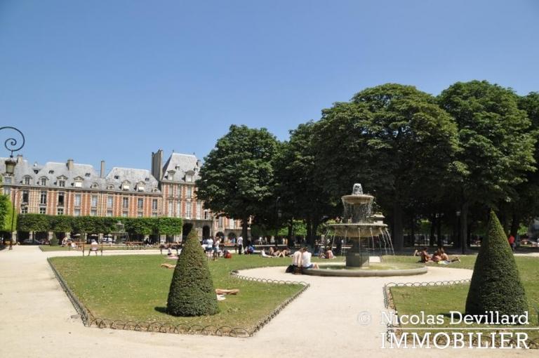 Marais – Sur jolie cour au soleil – 75003 Paris (17)