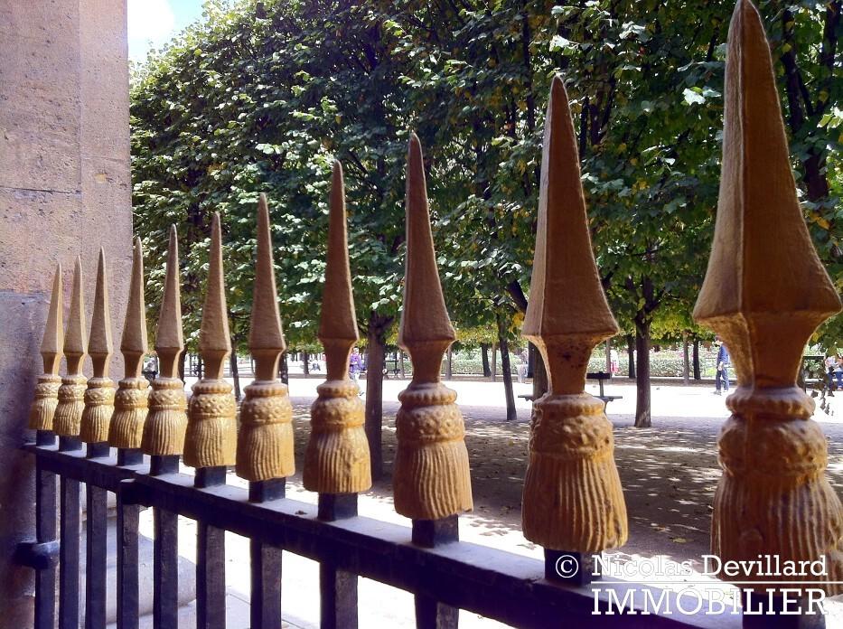 Palais Royal – Dans le jardin – 75001 Paris (4)