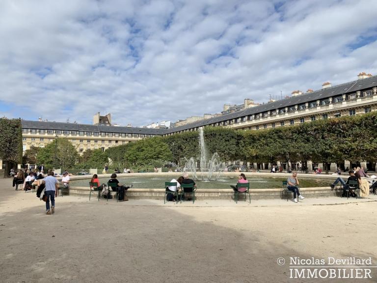 Palais-Royal – Dans le jardin – 75001 Paris (60)