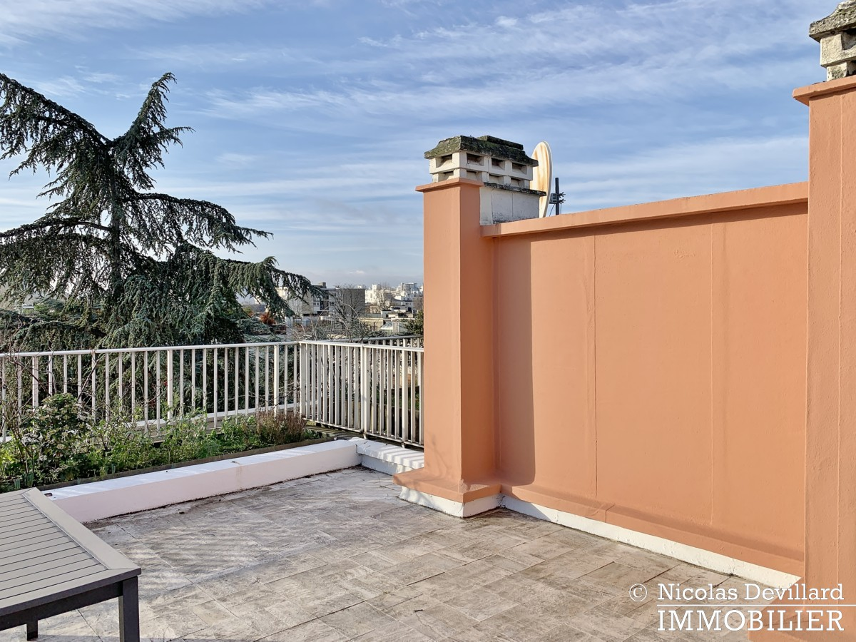 BoisSaint James – Dernier étage terrasse sur jardins – 92200 Neuilly sur Seine (33)