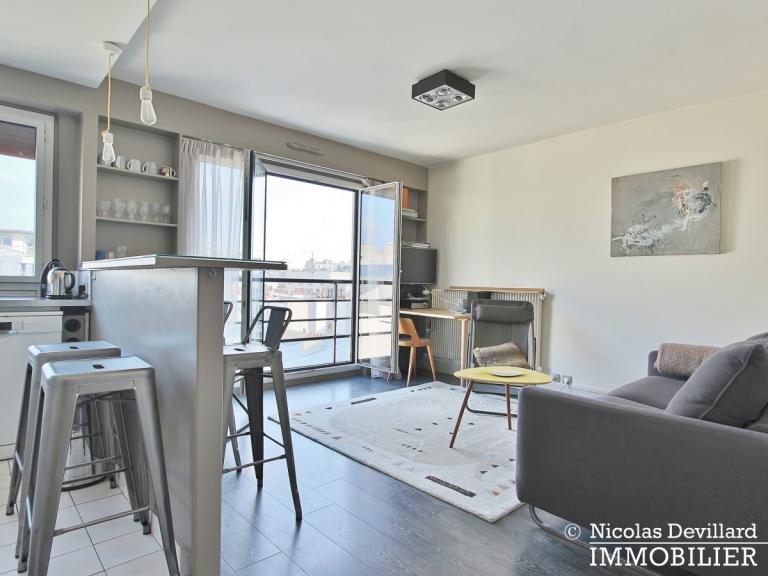 Marché Lévis – Dernier étage, terrasse et vue dégagée – 75017 Paris (53)