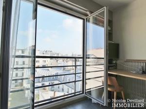 Marché Lévis – Dernier étage, terrasse et vue dégagée – 75017 Paris (57)