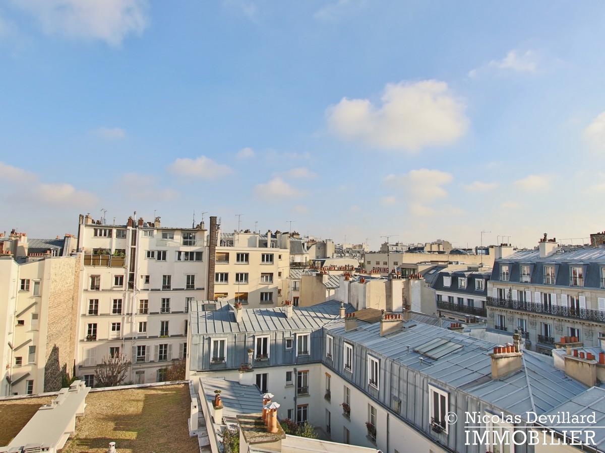 Marché Lévis – Dernier étage, terrasse et vue dégagée – 75017 Paris (58)