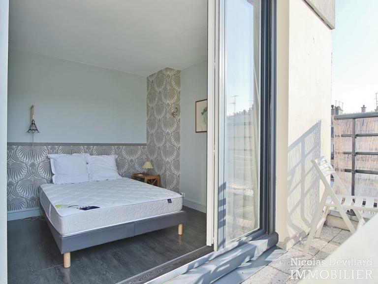 Marché Lévis – Dernier étage, terrasse et vue dégagée – 75017 Paris (73)