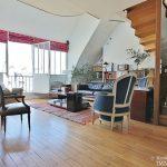 FlandrinLongchamp – Dernier étage superbe terrasse et vue – 75116 Paris 11