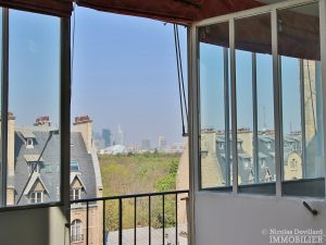 FlandrinLongchamp – Dernier étage superbe terrasse et vue – 75116 Paris 12
