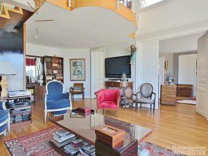 FlandrinLongchamp – Dernier étage superbe terrasse et vue – 75116 Paris 14
