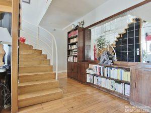 FlandrinLongchamp – Dernier étage superbe terrasse et vue – 75116 Paris 15