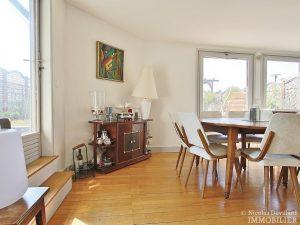 FlandrinLongchamp – Dernier étage superbe terrasse et vue – 75116 Paris 20