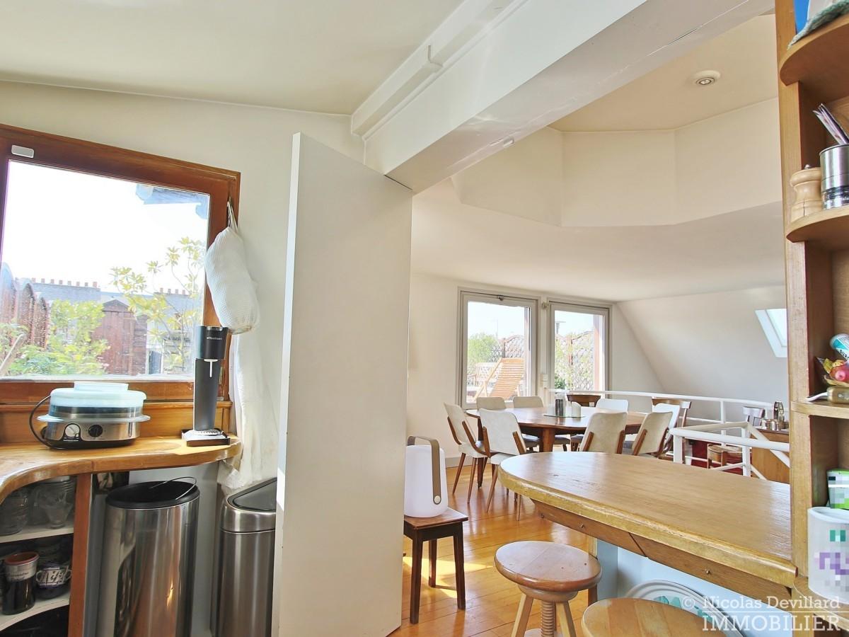 FlandrinLongchamp – Dernier étage superbe terrasse et vue – 75116 Paris 22