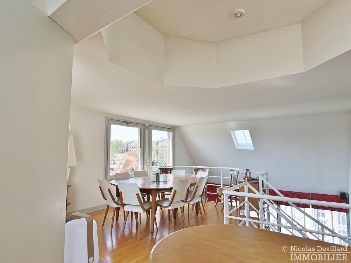 FlandrinLongchamp – Dernier étage superbe terrasse et vue – 75116 Paris 23