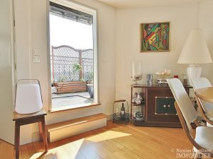 FlandrinLongchamp – Dernier étage superbe terrasse et vue – 75116 Paris 24