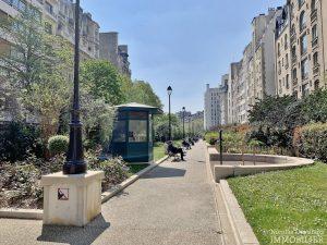 FlandrinLongchamp – Dernier étage superbe terrasse et vue – 75116 Paris 6