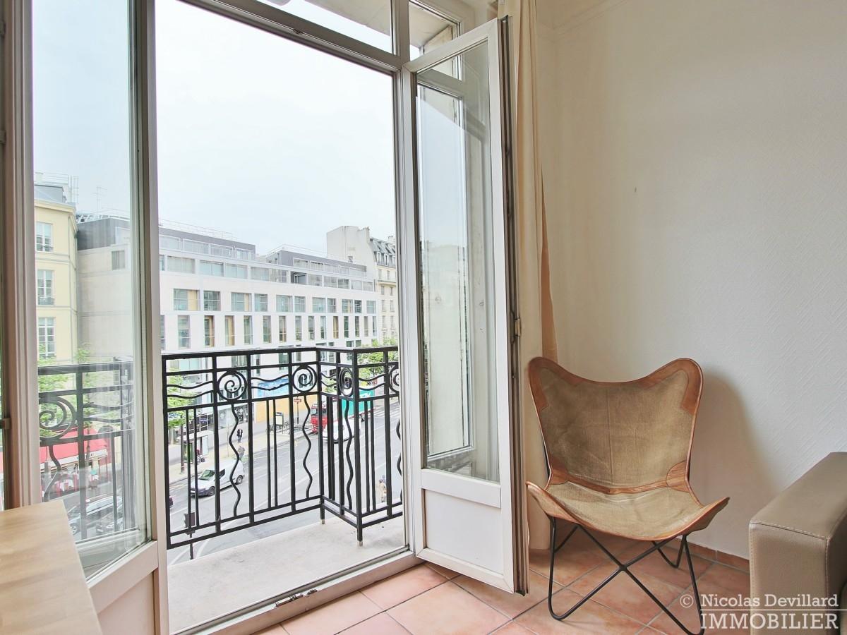 HaussmannOpéra – Volume vue et balcon – 75009 Paris 4