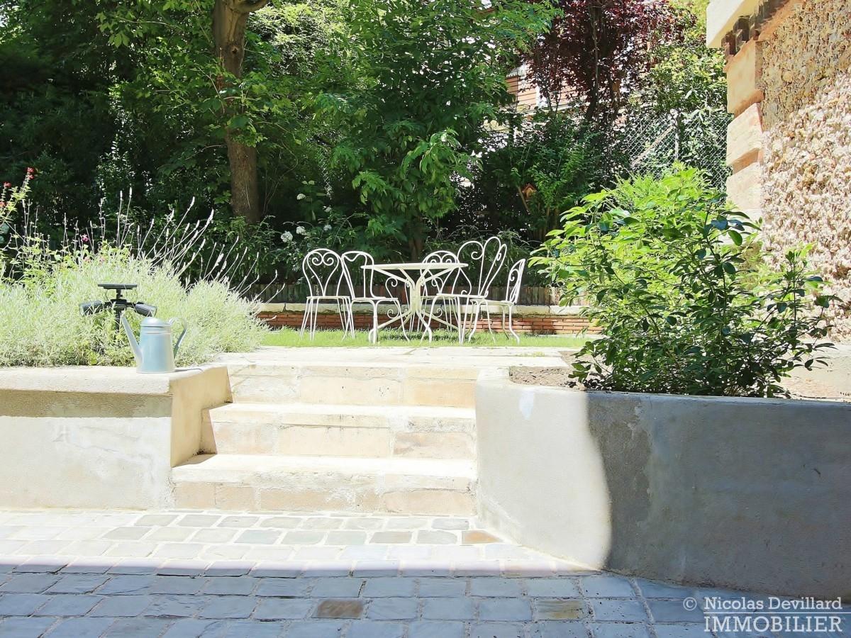 La MuetteVoie privée – Calme et volume sur jardin dans un hôtel particulier – 75016 Paris 16