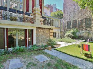 La MuetteVoie privée – Calme et volume sur jardin dans un hôtel particulier – 75016 Paris 18