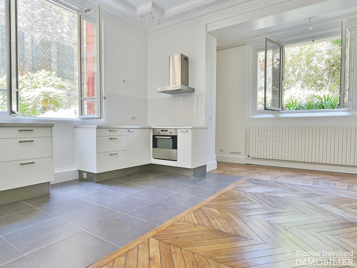 La MuetteVoie privée – Calme et volume sur jardin dans un hôtel particulier – 75016 Paris 2