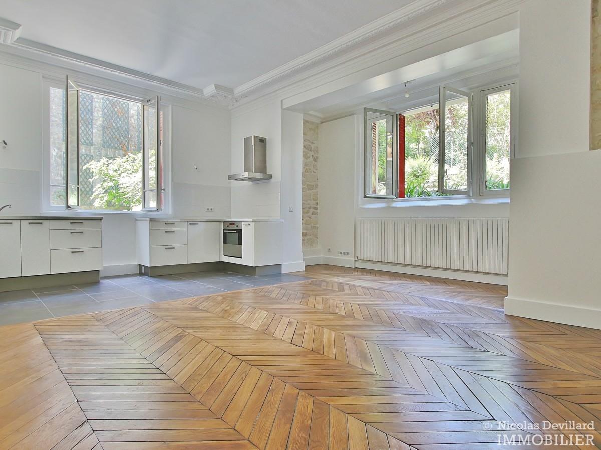 La MuetteVoie privée – Calme et volume sur jardin dans un hôtel particulier – 75016 Paris 3