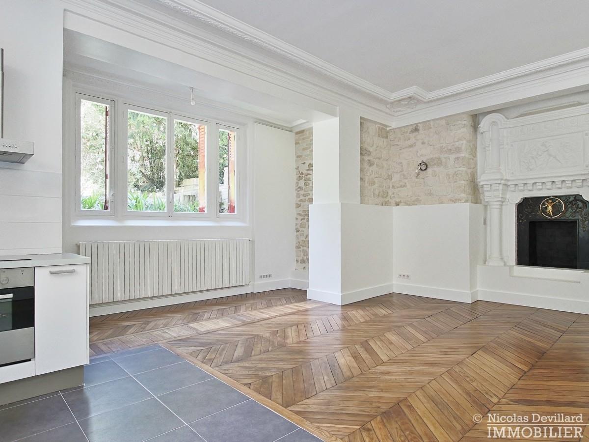 La MuetteVoie privée – Calme et volume sur jardin dans un hôtel particulier – 75016 Paris 9