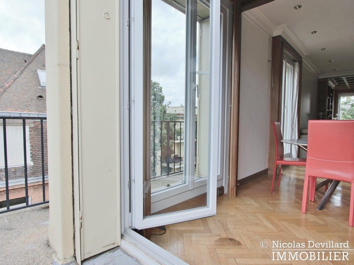 BoulogneRoland Garros – Fenêtres sur jardins au dernier étage – 92100 Boulogne (37)