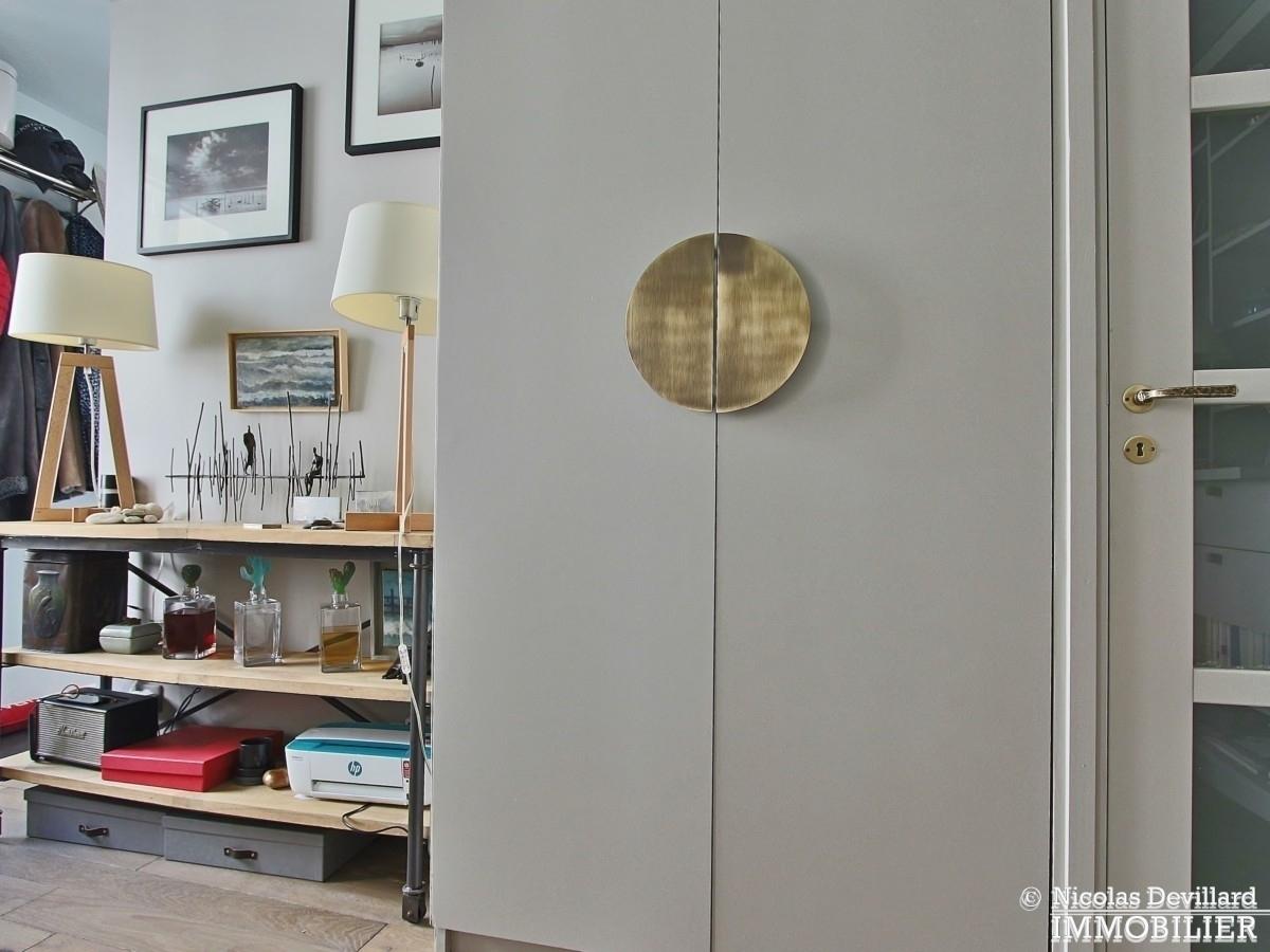 InvalidesSaint Dominique – Vaste studio superbement rénové sur cour arborée – 75007 Paris 10