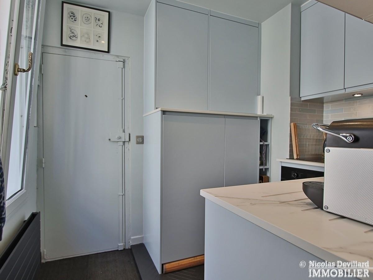 InvalidesSaint Dominique – Vaste studio superbement rénové sur cour arborée – 75007 Paris 6