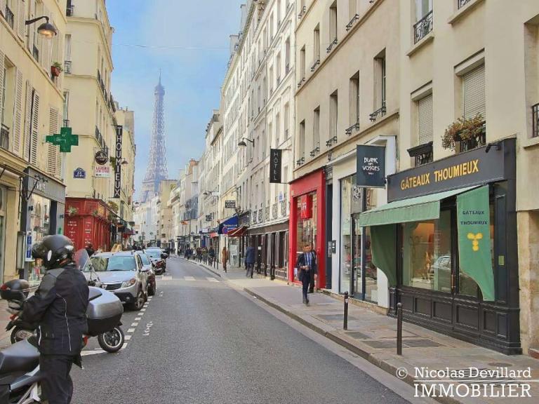 InvalidesSaint-Dominique – Vaste studio superbement rénové sur cour arborée – 75007 Paris (24)