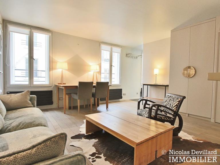 InvalidesSaint-Dominique – Vaste studio superbement rénové sur cour arborée – 75007 Paris (37)