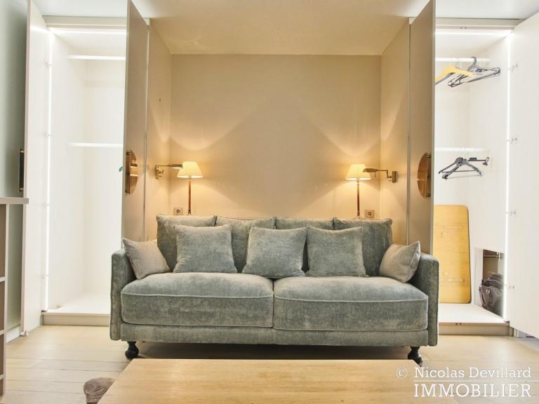 InvalidesSaint-Dominique – Vaste studio superbement rénové sur cour arborée – 75007 Paris (39)