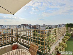 Marcel Sembat – Dernier étage terrasse soleil et calme – 92100 Boulogne 10