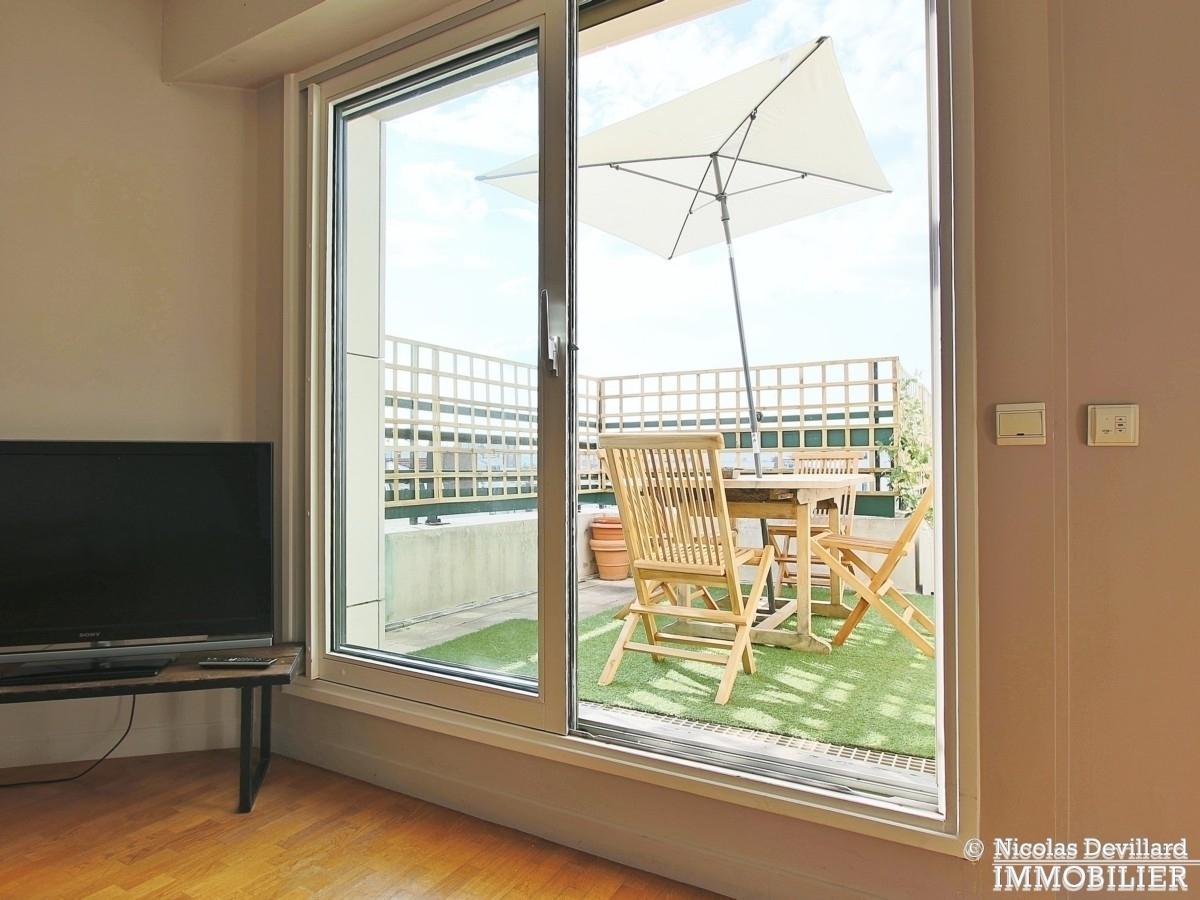 Marcel Sembat – Dernier étage terrasse soleil et calme – 92100 Boulogne 12