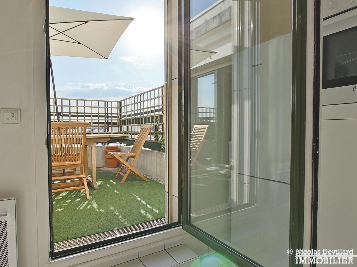 Marcel Sembat – Dernier étage terrasse soleil et calme – 92100 Boulogne 15