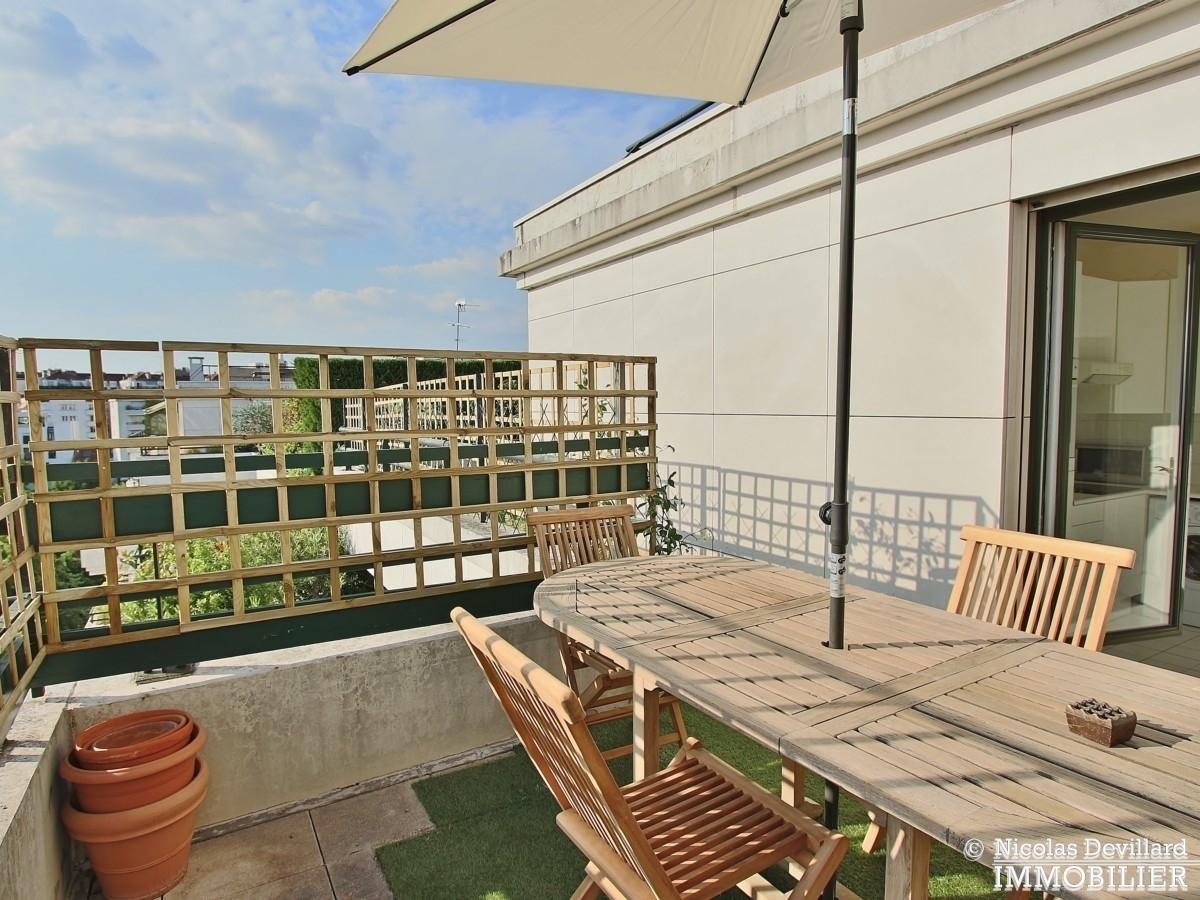 Marcel Sembat – Dernier étage terrasse soleil et calme – 92100 Boulogne 18