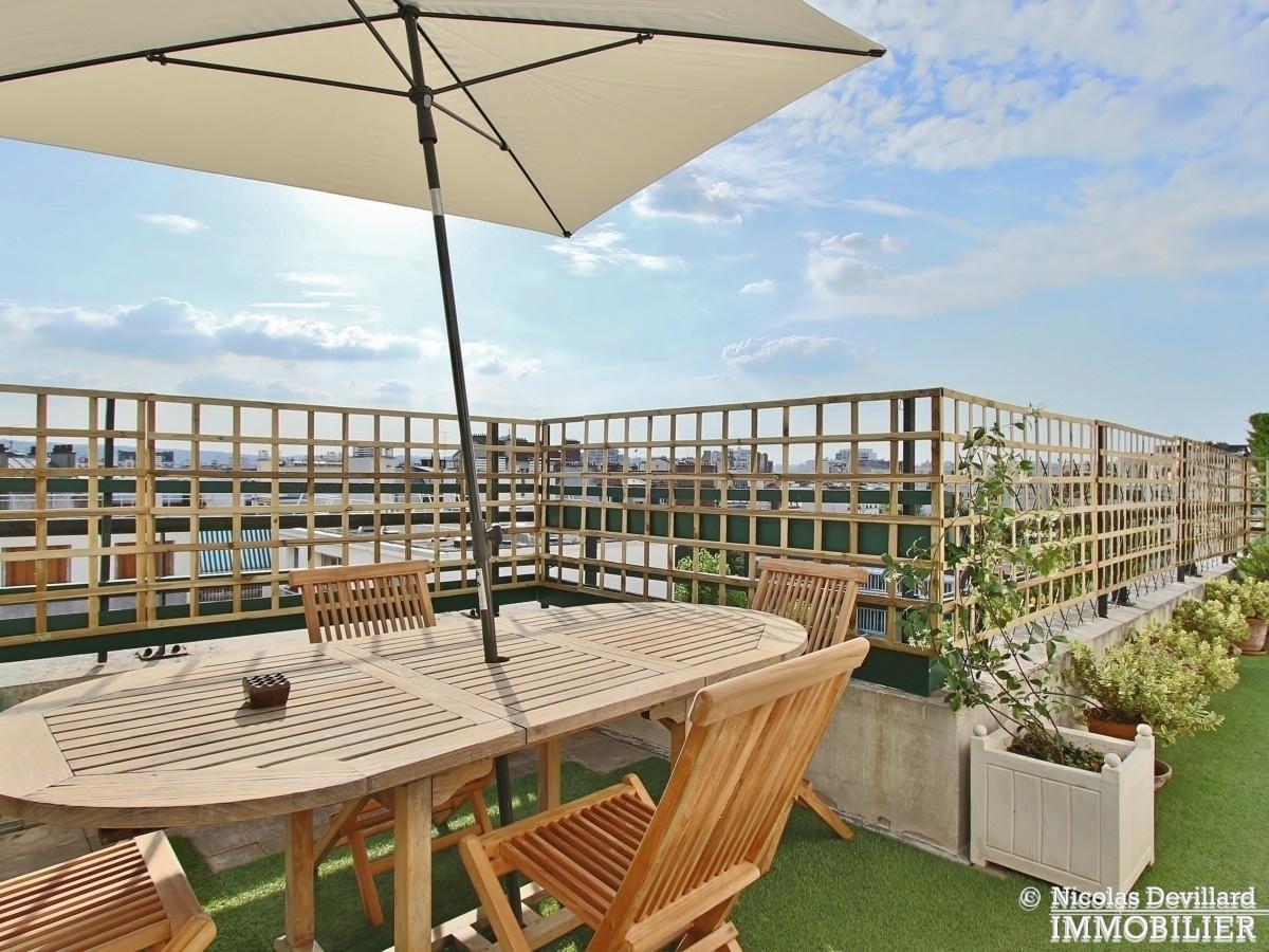 Marcel Sembat – Dernier étage terrasse soleil et calme – 92100 Boulogne 6