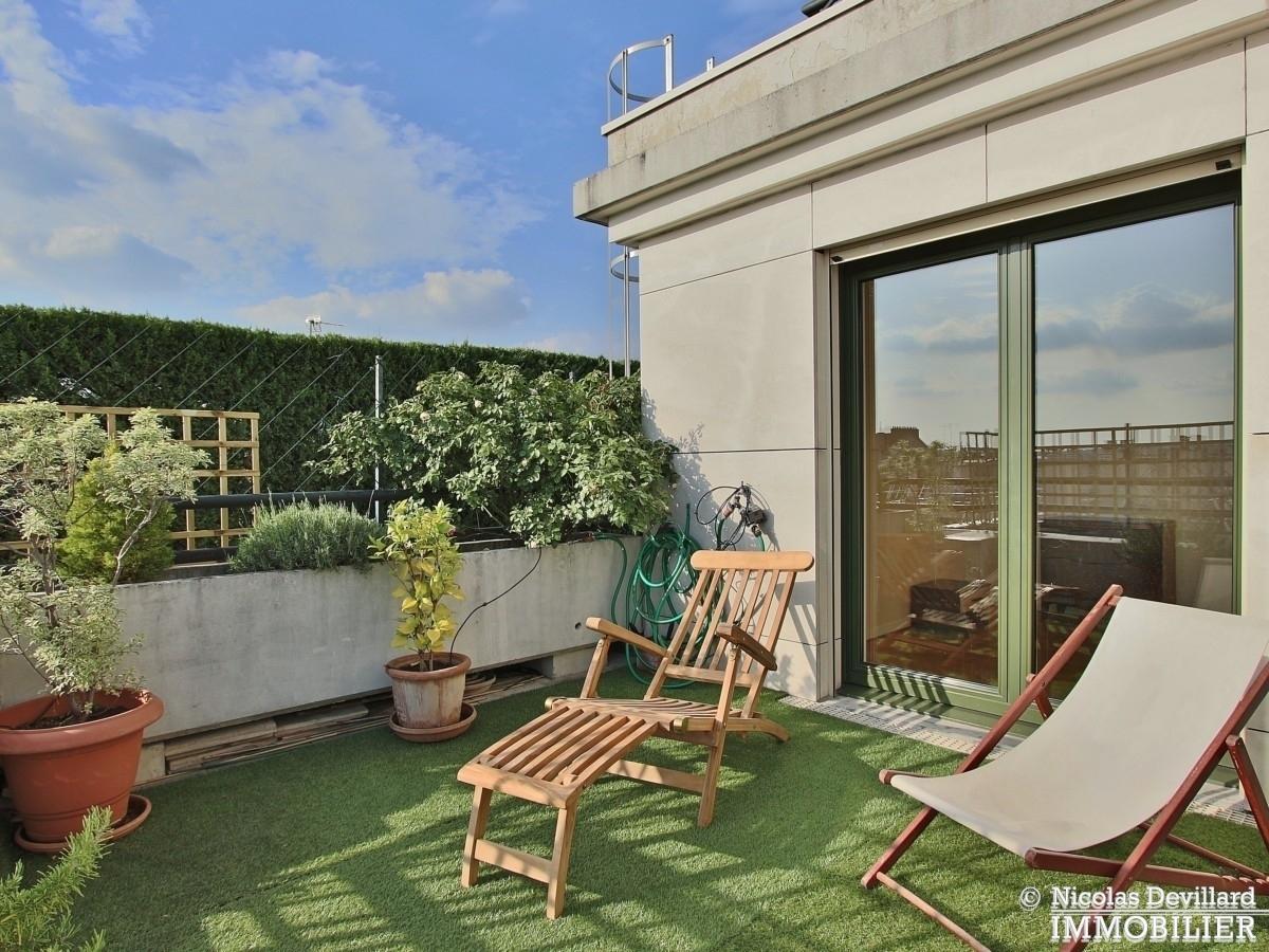 Marcel Sembat – Dernier étage terrasse soleil et calme – 92100 Boulogne 8