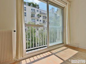 Trocadéro – Grand studio sur jardin au calme – 75116 Paris 12