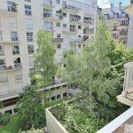 Trocadéro – Grand studio sur jardin au calme – 75116 Paris 13
