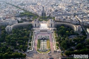 Trocadéro – Grand studio sur jardin au calme – 75116 Paris 20