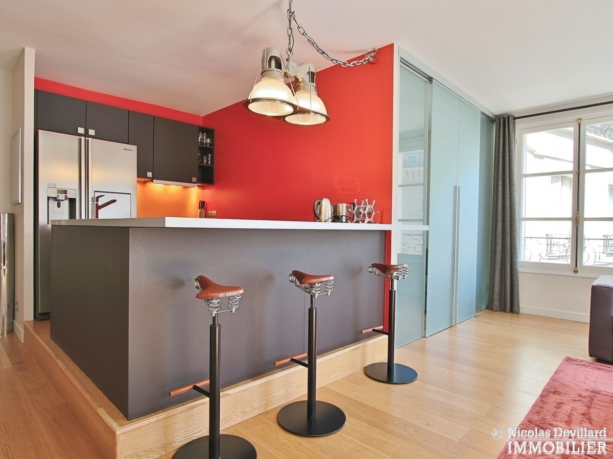 TrocadéroGeorges Mandel – Luxe calme et soleil – 75116 Paris 18