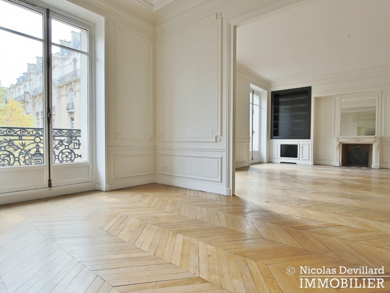 Avenue Victor Hugo – Splendide appartement de réception et familial – 75116 Paris (15)