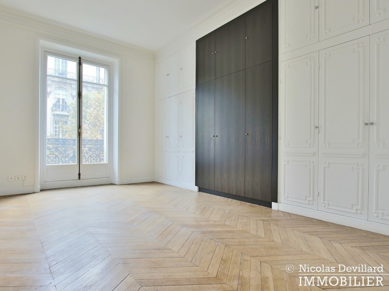 Avenue Victor Hugo – Splendide appartement de réception et familial – 75116 Paris (20)