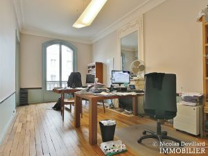 Plaine MonceauCourcelles – Très bel hausmannien (professionnel et habitation) – 75017 Paris (16)