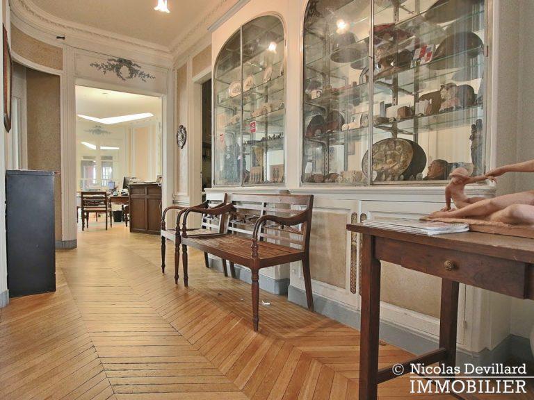 Plaine MonceauCourcelles – Très bel hausmannien (professionnel et habitation) – 75017 Paris (21)