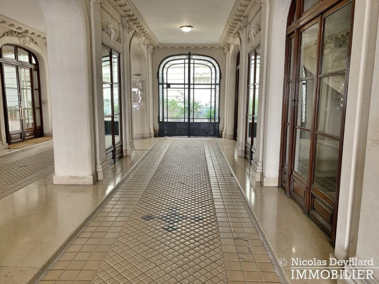 Plaine MonceauCourcelles – Très bel hausmannien (professionnel et habitation) – 75017 Paris (22)