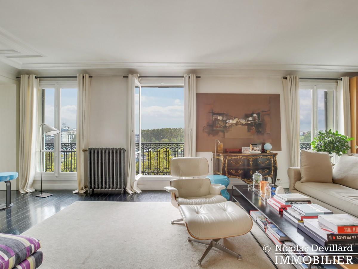 Alma Marceau – Duplex dernier étage, vue panoramique et prestations luxueuses – 75116 Paris (15)