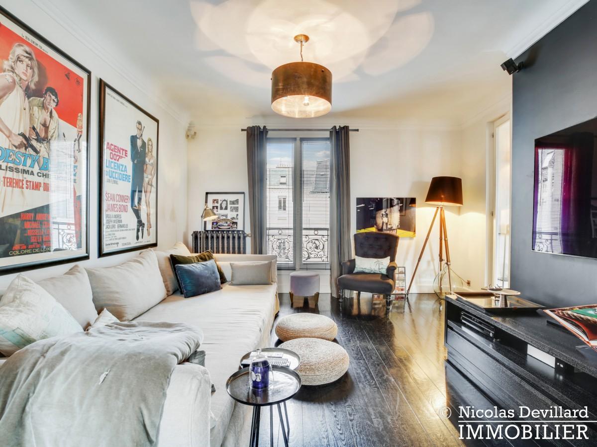 Alma Marceau – Duplex dernier étage, vue panoramique et prestations luxueuses – 75116 Paris (18)