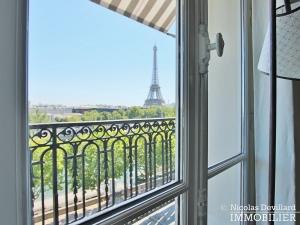 Alma Marceau – Duplex dernier étage, vue panoramique et prestations luxueuses – 75116 Paris (24)