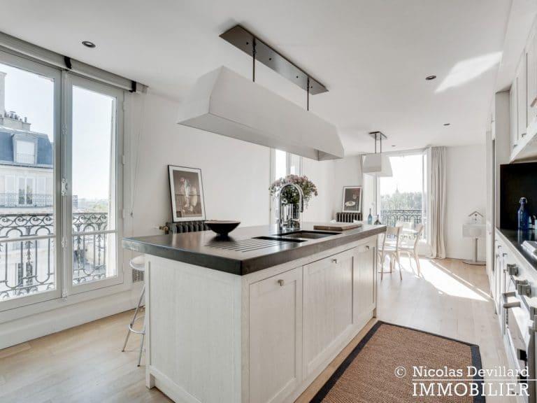 Alma-Marceau – Duplex dernier étage, vue panoramique et prestations luxueuses – 75116 Paris (39)