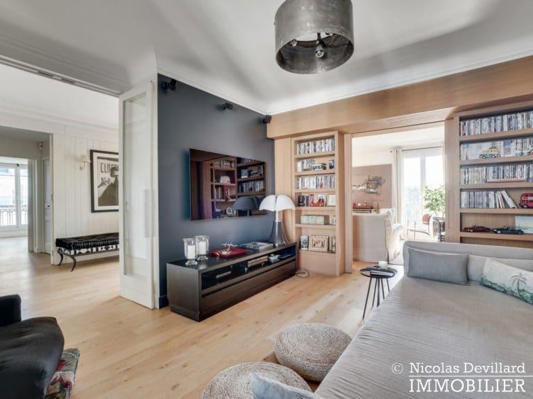 Alma-Marceau – Duplex dernier étage, vue panoramique et prestations luxueuses – 75116 Paris (55)