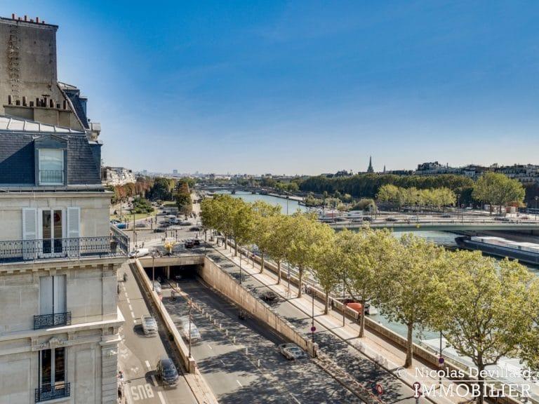 Alma-Marceau – Duplex dernier étage, vue panoramique et prestations luxueuses – 75116 Paris (64)